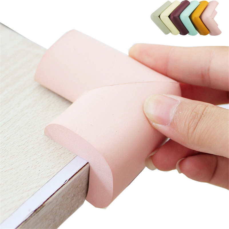 4PCS/lot Thicken Child Baby Safety Rubber Protection Table Corner Edge Protector Cover Children Edge Corner Guards Anticollision