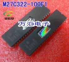 شحن مجاني 20 قطعة/السلع M27C322 100F1 M27C322 DIP 42 جديد أصلي IC في المخزون EPROM IC جديد