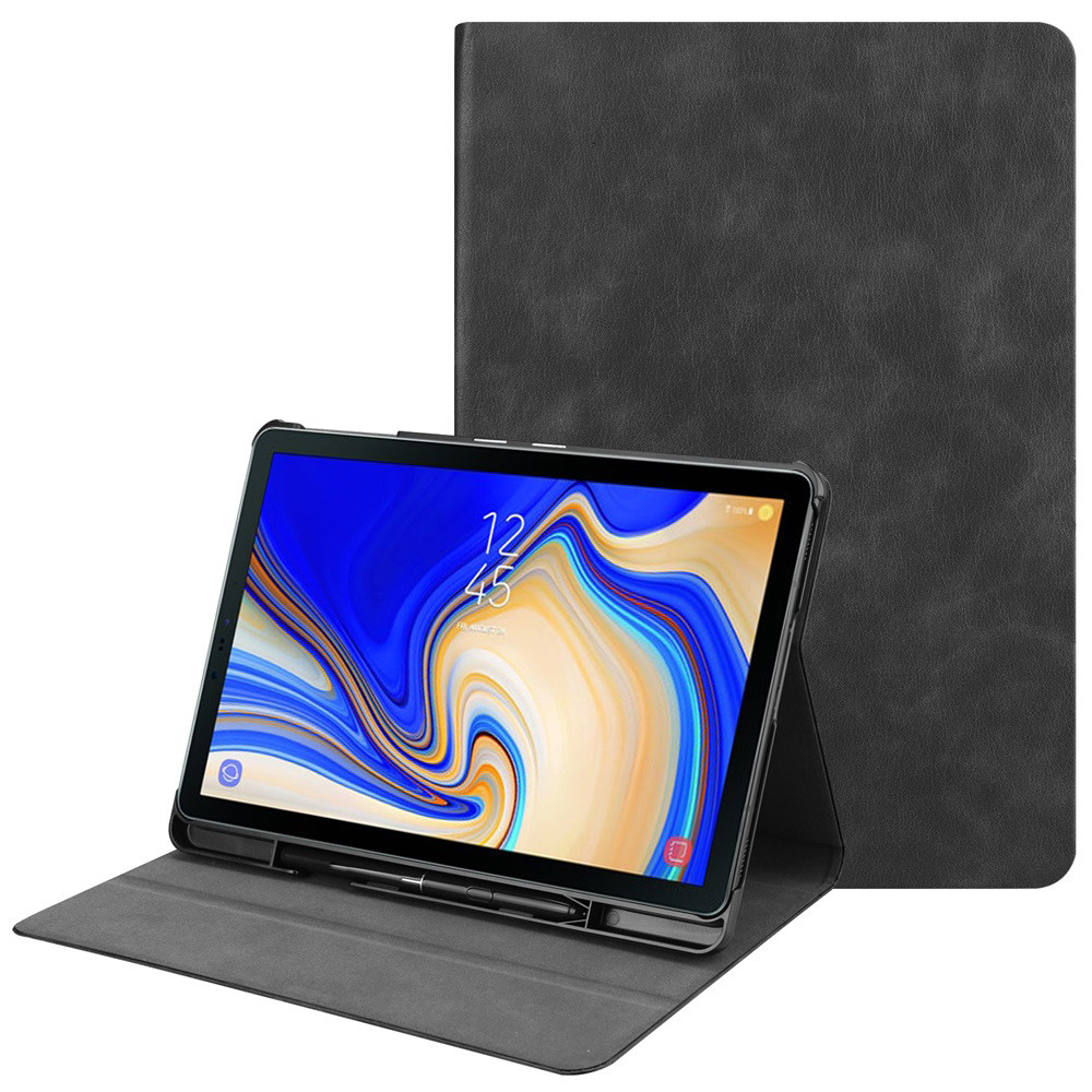 NEW 10.5 Inch Ultra Slim PU Leather Case Cover For Samsung Galaxy Tab S4 Wake/Sleep Slim Case Cover W/Pen Holder