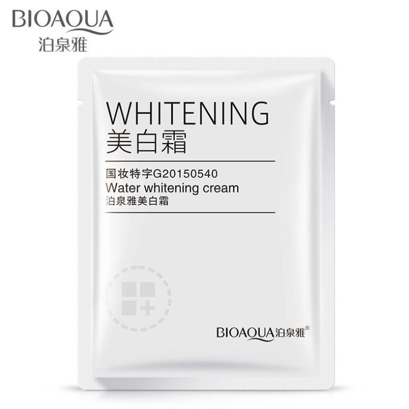 7pcs Whitening Cream Brightening Water Replenishing Cream Improve Dullness Anti-aging Face Skin Care For Travel