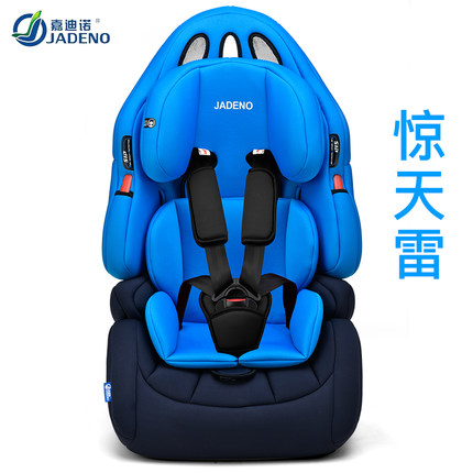 Child & Baby Safety Car Seat 9 Months -0-3-4-12 Years Old ISOFIX - Baby sikkerhet - Bilde 3