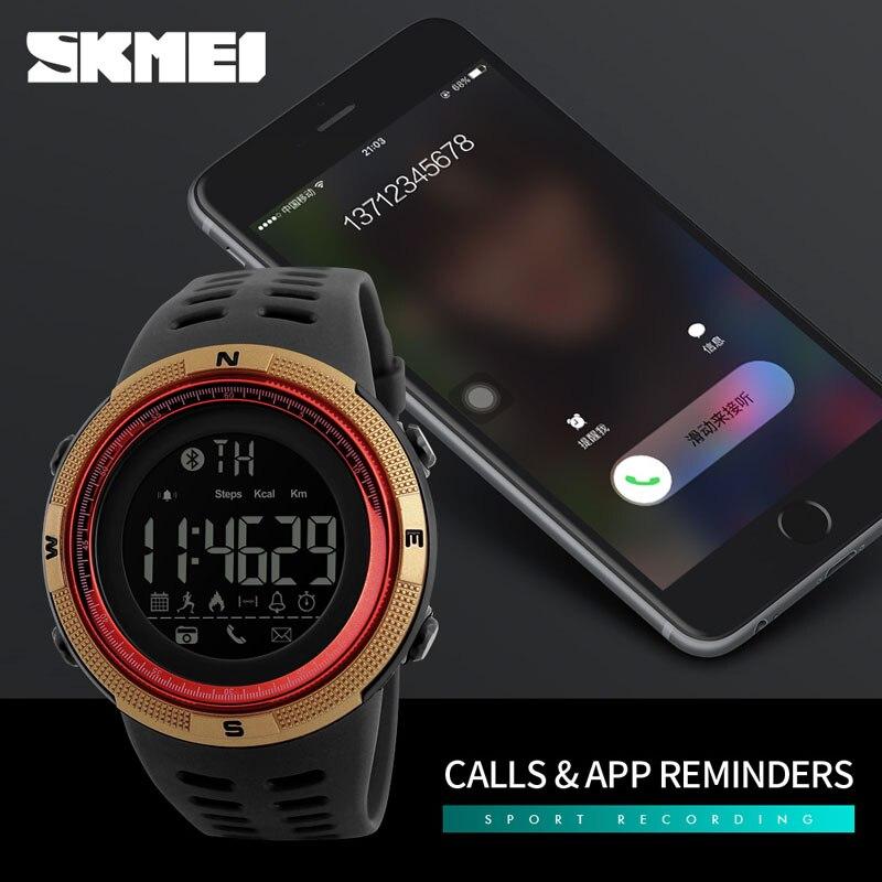 SKMEI Men s Smart Watch Pedometer Calories Chronograph Fashion Men Sport Watches Chronograph 50M Waterproof Digital