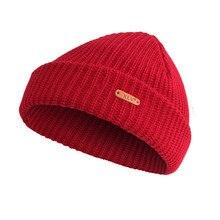 Letter True Casual Beanies for Men Women Fashion Wool Knit Winter Hat Solid Color Hip-hop Skullies Hat Bonnet Unisex Cap