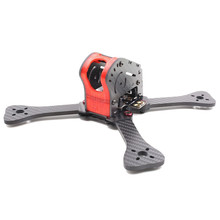 High Quality Green Red Yellow GEPRC GEP-IX5 Fairy 5 Inch 200mm X Type DIY Frame Kit For FPV RC Racer Drone Multicopter Model