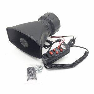 DC12V 100W 5 Tone Politie hoorn alarmsirene Auto motorfiets truck tape megafoon pa Waarschuwing Sirene Alarm Luidspreker systeem + microfoon