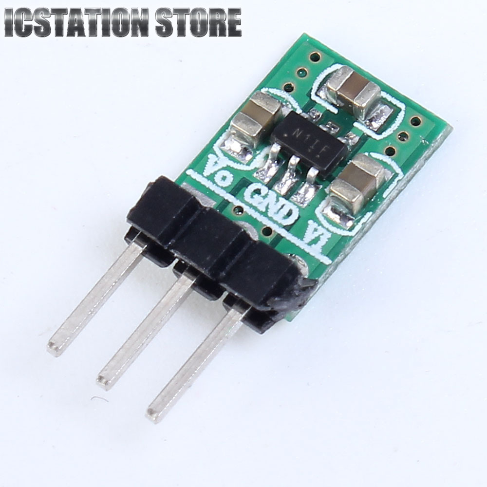 DC-DC 1.8-5V to 3.3V Step-Up/Down Boost Buck Converter 2 in 1 Power Supply Module Regulator With Short Circuit Protection dc dc buck boost module for solar battery board red lm2577s lm2596s