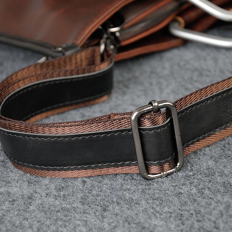 HTB16YHsajzuK1Rjy0Fpq6yEpFXa5 2019 Designer Men's Briefcase Vintage Shoulder Bags Crazy Horse Leather Crossbody bags Business Laptop Handbag Men travel bags
