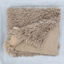 Мягкое одеяло из искусственного меха для новорожденных, пеленка для сна, одеяло s