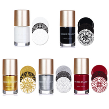 9ml Sweet Color Nail Art Stamping