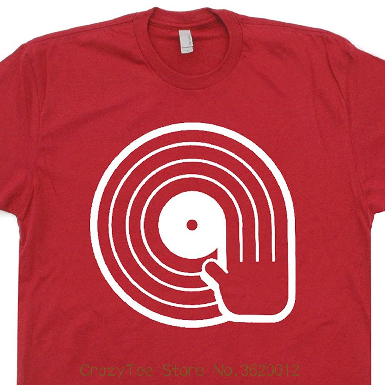 US $12 28 9% OFF Dj Vinyl Records T Shirt Turntables Trust Me I'm The Kiss  Technics Tee Vintage Retro 80s Mens Kids Player Shirtmandude-in T-Shirts