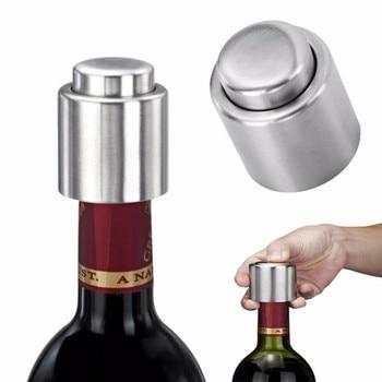 1PCS Stainless Steel Wine Bottle Stopper