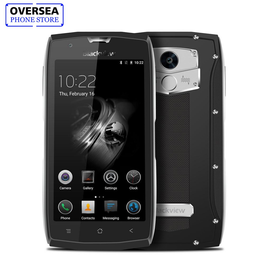 Waterproof Smartphone Blackview BV7000 Pro MT6750T Octa Core 5.0 Inch Moblie Phone 4GB RAM 64GB ROM 13.0MP Android 6.0 Cellphone