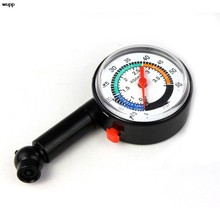 New Auto Motor Car Truck Bike Tyre Tire Air Pressure Gauge Dial Meter Vehicle Tester #40(China)