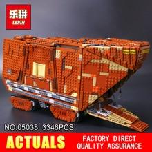 Lepin 05038 Star Wars Sandcrawler Building Blocks Sets Juguete para Construir Bricks Toys compatible