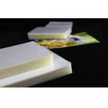 """Ламинирующая пленка, прозрачный лист, Эва, скрепление для фото, рулон бумаги, ламинирование, фото файлы, карта, изображение, ламинирование, переплет """" 80x110 мм"""