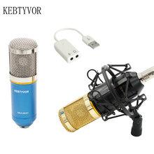 Professional Condenser Microphone Mic Studio Sound Recording Dynamic Record BM800 Two Colors