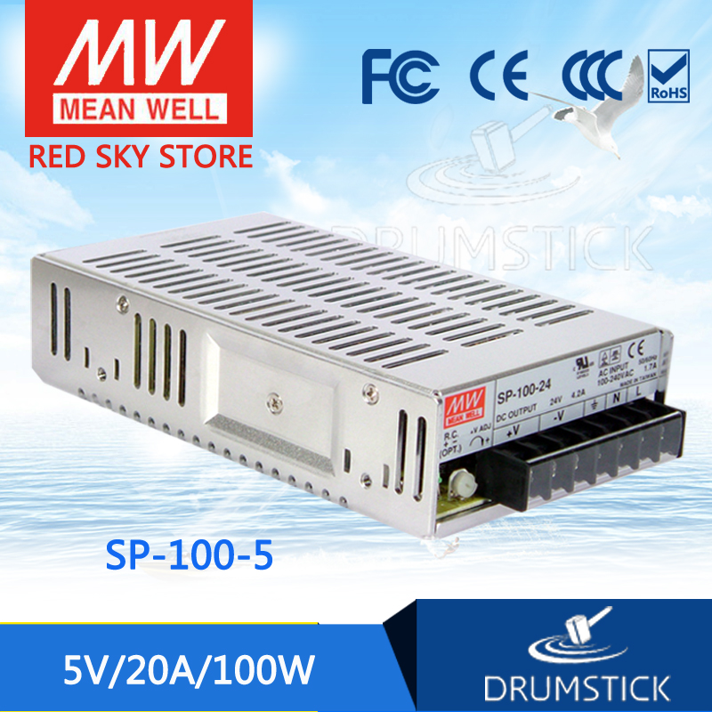 Hot sale MEAN WELL SP-100-5 5V 20A meanwell SP-100 5V 100W Single Output with PFC Function Power Supply advantages mean well sp 240 5 5v 45a meanwell sp 240 5v 225w single output with pfc function power supply [real6]