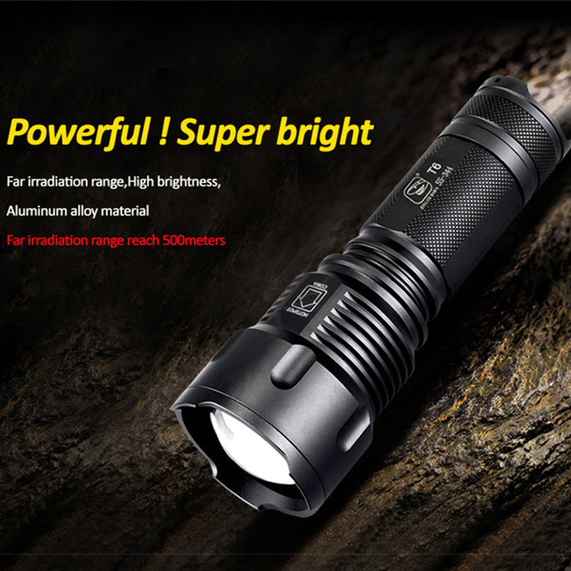Led Flashlight Lanterna de led linternas Torch 1000 Lumen Powerful T6 LED Zoomable Bike Light 2016 new t6 led flashlight lantern de led linternas torch 3800 lumen zoomable lamp mini flash light outdoor bike lighting