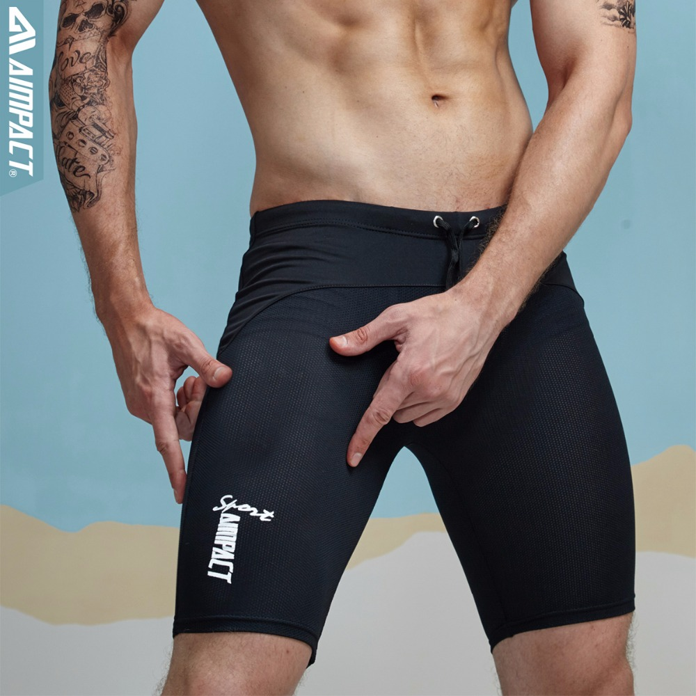 Aimpact Classic Skinny Men's Tight Shorts Casual Leisure Fitness Men Workout Shorts Mesh Breathable Crossfit Sweatshorts 2AQ11