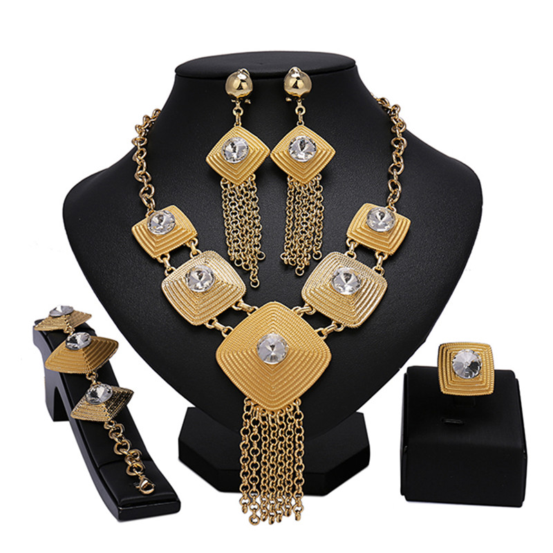 Longqu Dubai Gold Bridal...