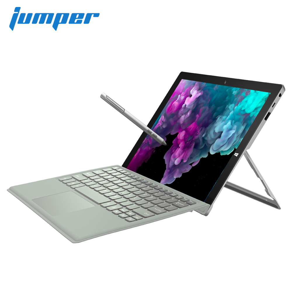 2 In 1 Tablet PC Jumper EZpad Go 11.6 Inch IPS Display Windows Tablet 4GB RAM 64GB/128GB Intel Apollo Lake N3450 Tablet No Pen