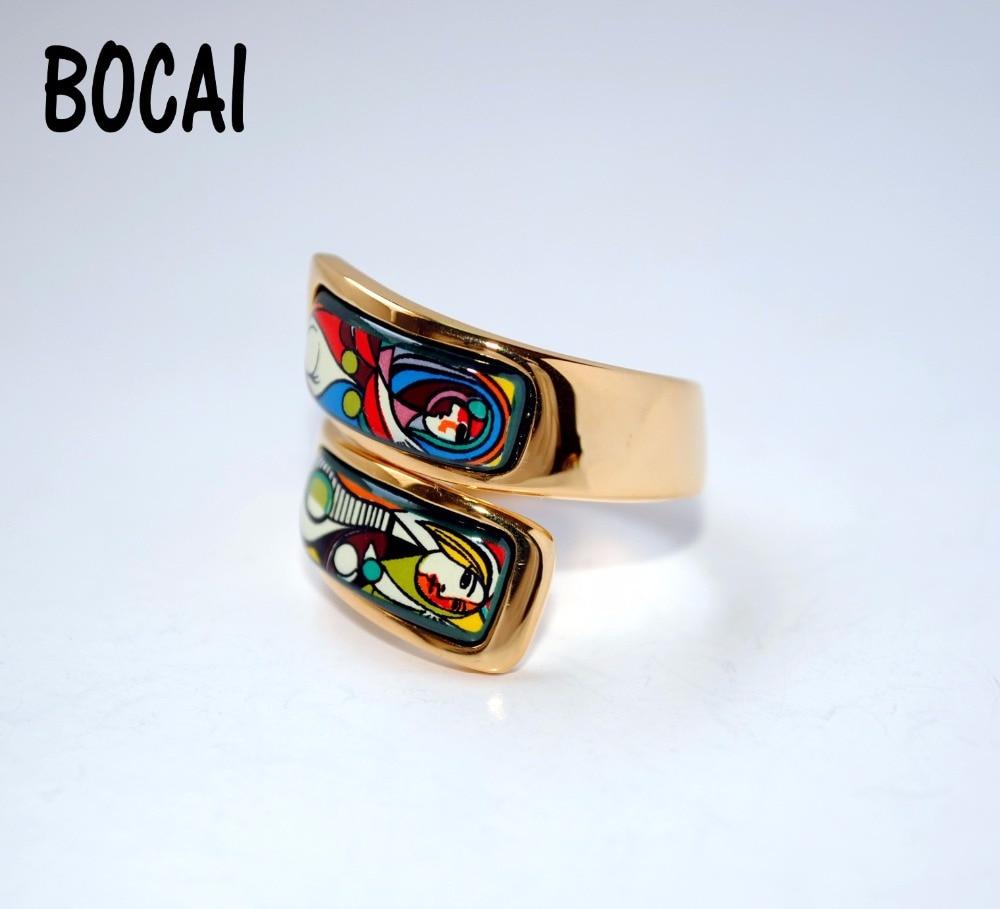 Cloisonne Ring Japan and South Korea jewelry ежедневник japan and south korea 520