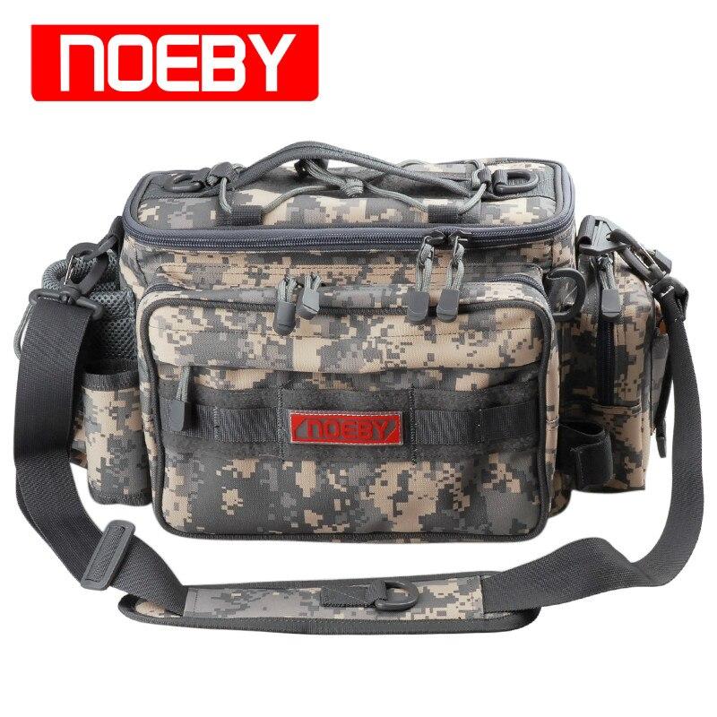 ФОТО New Arrival NOEBY Fishing Bag 27.5*11*21cm  Multifunctional Waist Pack Fishing Tackle Outdoor Bagpack Bolsa Pesca Free Shipping