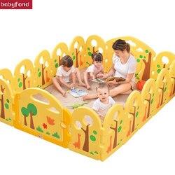 12 + 2 PCS Baby sicherheit zaun baby spiel zaun kind kleinkind zaun indoor hause baby sicherheit zaun