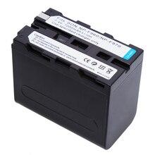 Substituição de Bateria para Sony 7.4 V 7000 Mah NP F930 F950 Np-f960 Np-f970 F960 F550 F570 F330 F750 F770 Mc1500c 190 P 198 Hd1000c