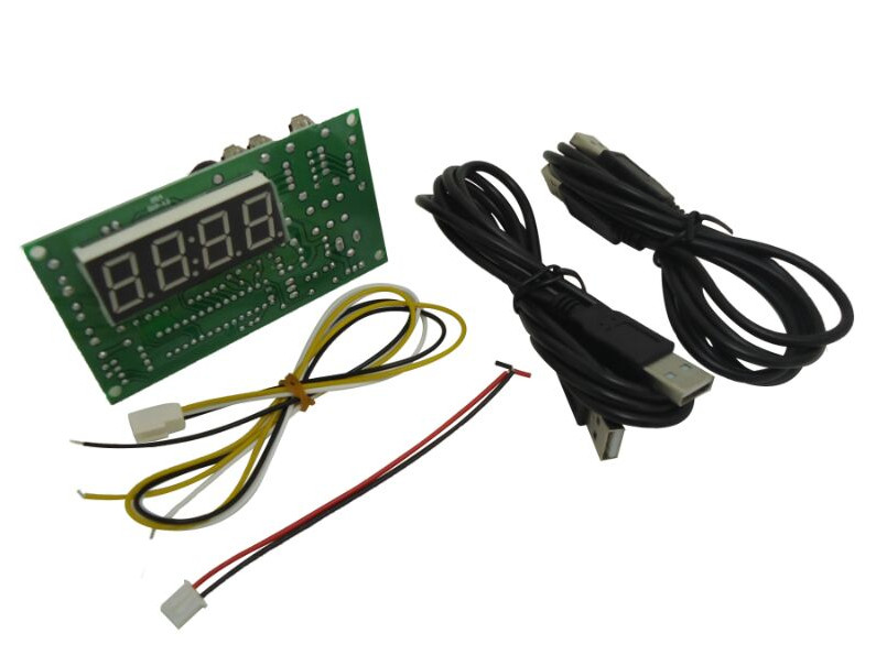 JY-18A coin operated USB time control Timer Board Power Supply for coin acceptor selector device, USB devices, etc..