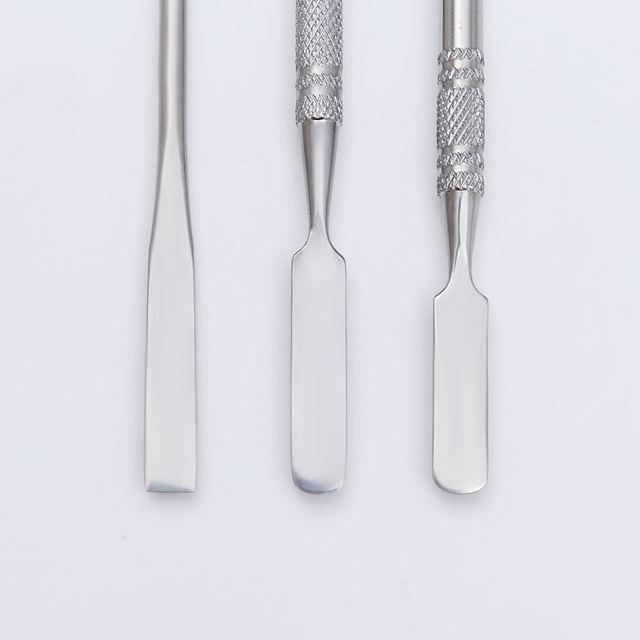 1 Pc Nail Extension Maker Spatula Stick Dual-ended Three Size Nail Polish Cream Mix Spatula Spoon Stick Nail Art Tools
