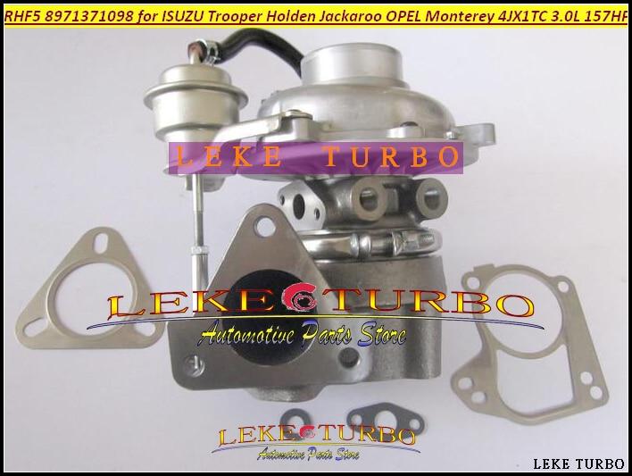 Free Ship RHF5 8971371097 8971371099 8972503641 8972503642 Turbo For ISUZU Trooper 2000- For OPEL Monterey 1998- 3.0L 4JX1T 3.0L