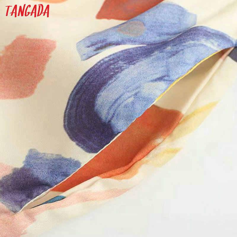 Модная женская тангада, длинные брюки с цветочным принтом, эластичный пояс, карманы, брюки 2019, Уютная женская пляжная одежда, брюки, 2S37