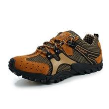 Outdoor Breathable Shoes Men Lightweight Walking Climbing Shoes Anti-skid Men Aqua Water Trekking Shoes Men