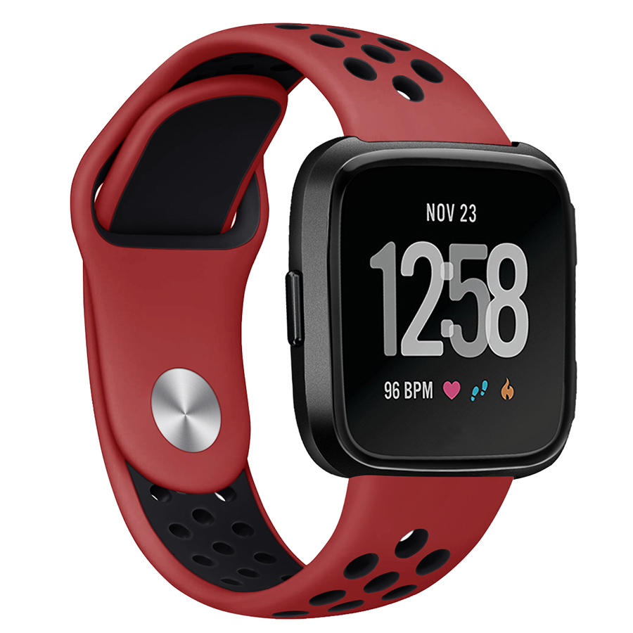 High Quality Colorful Band For Fitbit Versa / Versa Lite Sport Silicone Band Wrist Strap Bracelet Smart Wristband Accessories