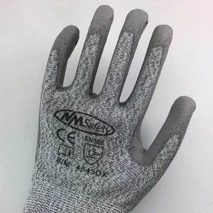 Image 3 - NMSafety Anti Knife Security Protection Glove with HPPE Liner Cut Resistant Safety Working Gloves