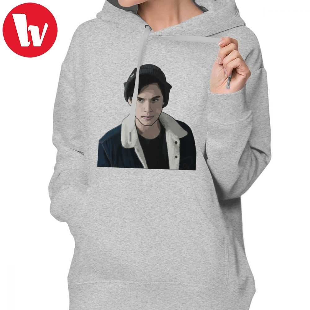 Riverdale Southside Hoodie Jughead Jones From Riverdale Digital Art Hoodies XL Grey Hoodies Women Printed Cotton Pullover Hoodie