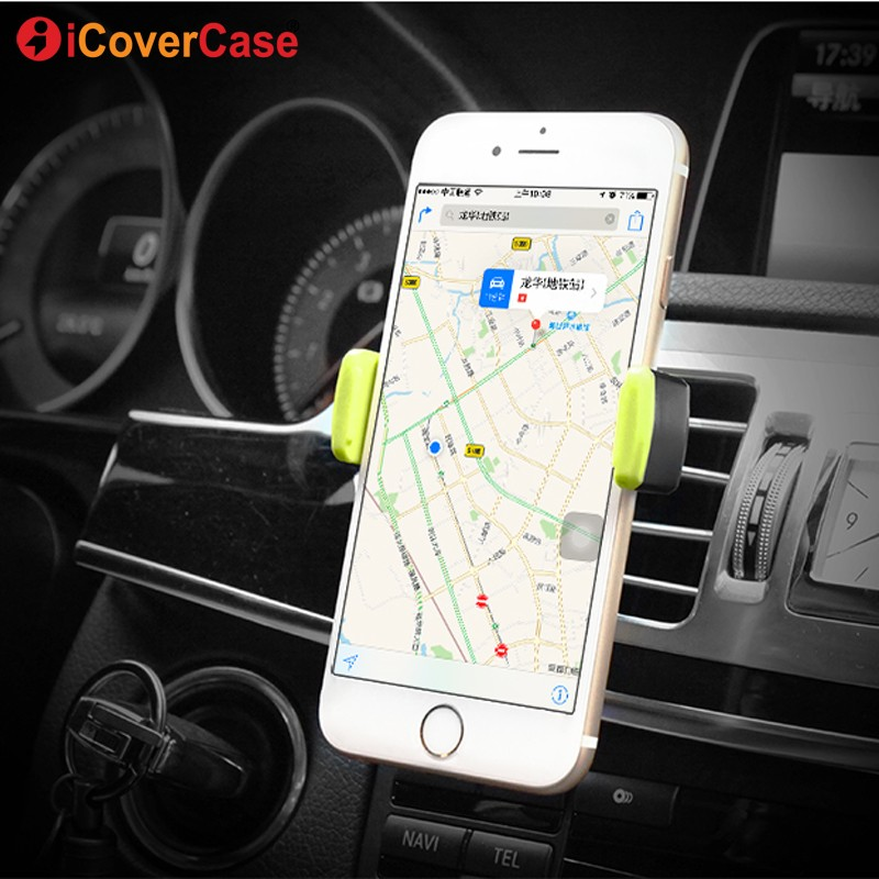 Car Phone Holder For Xiaomi Redmi Note 7 Pro 6 5 Pro 5a Prime 4 4x Mi 9 8 Se A2 Lite Poco F1 Air Vent Mount Mobile Phone Stand