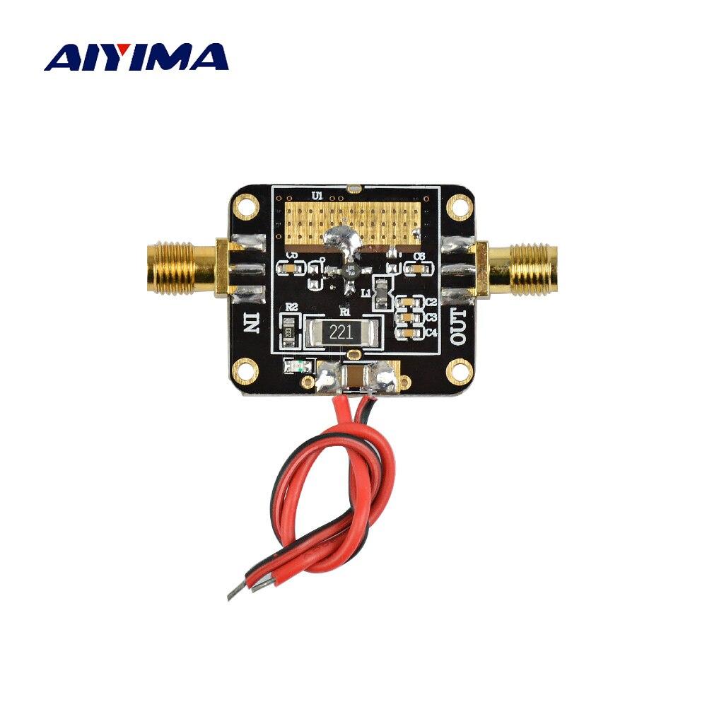 Aiyima RF Conseil Amplificateur 0.01-3000 mhz 3 ghz LNA À Large Bande RF À Faible Bruit Amplificateur Module Gain 22dB