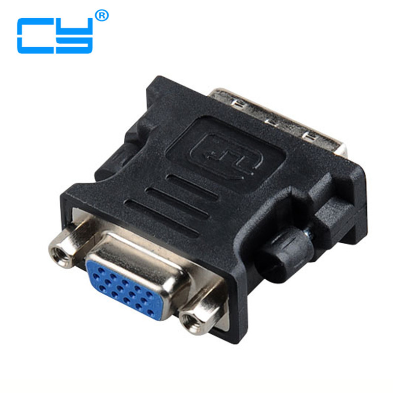 все цены на DVI 24+5 Male to RGB VGA Female Adapter Converter for Monitor & Computer Graphics Card онлайн
