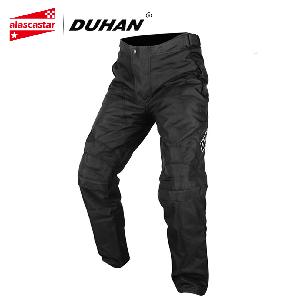 DUHAN Motorcycle Pants Oxford Cloth Riding Protective Windproof Sports Pants Clothing Motorcycle Enduro Racing Pantalon Trousers riding tribe motorcycle pants racing trousers windproof men scasual pants wear resistant protective knee sports motorcross pants