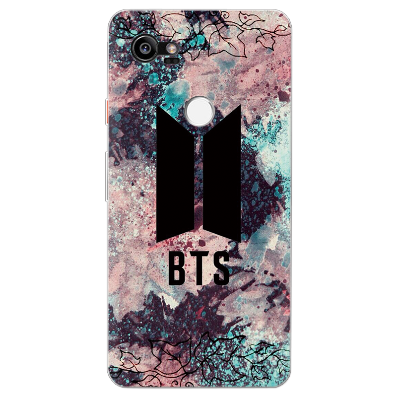 BTS BT21 Bangtan Boys Soft TPU Phone Case For Google Pixel 2 XL Fashion  Silicone Capa For Google Pixel 3 XL lovely Cartoon Coque