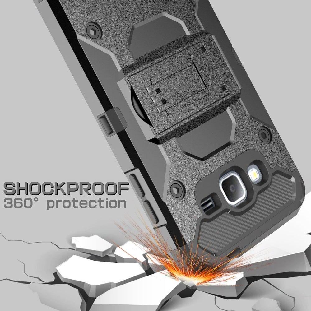 Heavy Duty Durable Armour Case Holster + Belt Clip Kickstand - Բջջային հեռախոսի պարագաներ և պահեստամասեր - Լուսանկար 2