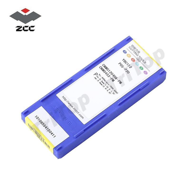ZCC.CT YBC152 CNMG120408-PM per inserti di tornitura semifinitura in - Macchine utensili e accessori - Fotografia 6