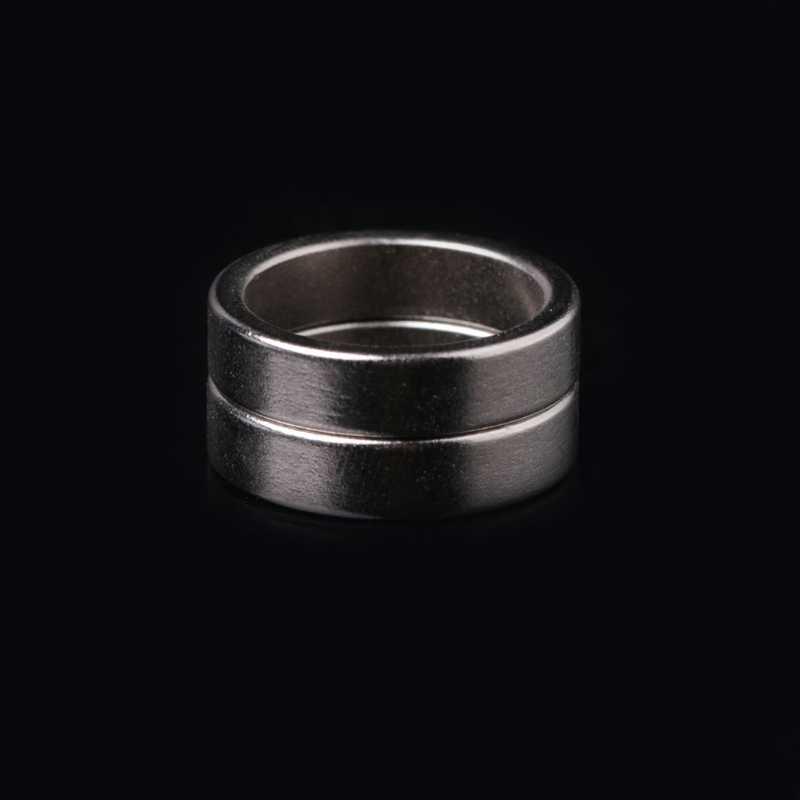 2ชิ้นไฟฉายหางแม่เหล็กแหวนแม่เหล็ก20x16x5มิลลิเมตรL15