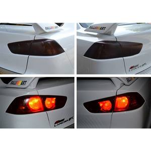 Image 1 - 100*30cm Auto Car Light Headlight Taillight Film Sticker Easy Stick Car Motorcycle  Decoration 8 Colors