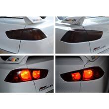 100*30cm Oto Araba Işık Far Arka Lamba şerit etiket Kolay Sopa Araba Motosiklet Dekorasyon 8 Renk