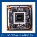 "AHD-H (1080P) 1/3"" Aptina CMOS AR0230 + NVP2441chipset DSP CCTV camera module board.AR0230+NVP2441"