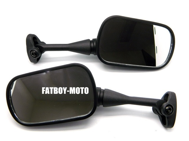 BLACK FACTORY REPLACEMENT REARVIEW MIRRORS FOR 99-06 CBR600 F4 F4i RC51