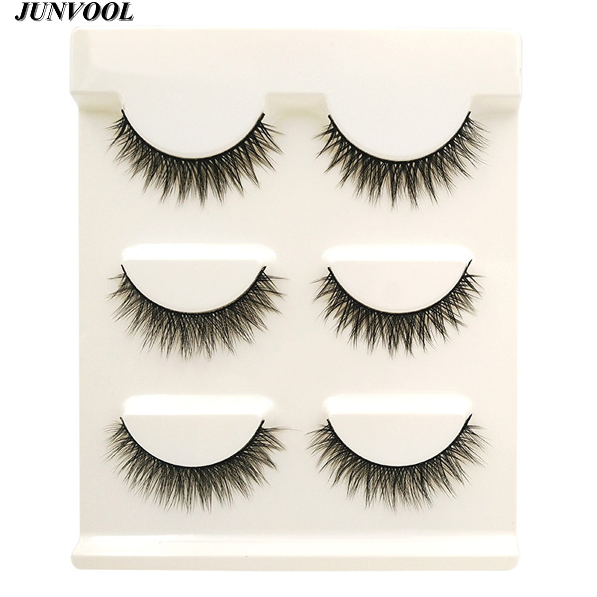 Ekstensi bulu mata, 15 Pairs buatan tangan 3D Mink rambut, Kecantikan - Riasan - Foto 4